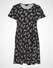 Zizzi Dress, Knee Length Kort Kjole Svart ZIZZI