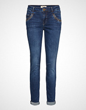 Mos Mosh Naomi Trok Jeans Skinny Jeans Blå MOS MOSH