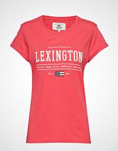 Lexington Clothing Vanessa Tee T-shirts & Tops Short-sleeved Rosa LEXINGTON CLOTHING