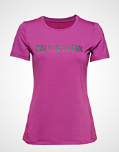 Calvin Klein Performance Short Sleeve Tee T-shirts & Tops Short-sleeved Rosa CALVIN KLEIN PERFORMANCE