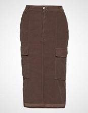 Please Jeans Cargo Skirt Baby Cod. Knelangt Skjørt Brun PLEASE JEANS