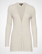 Esprit Collection Sweaters Cardigan Strikkegenser Cardigan Creme ESPRIT COLLECTION