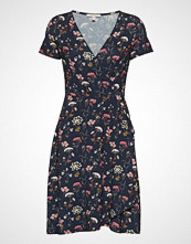 Esprit Casual Dresses Knitted Knelang Kjole Blå ESPRIT CASUAL