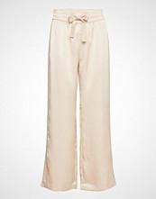 Second Female Yva Trousers Vide Bukser Creme SECOND FEMALE