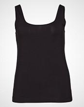 Violeta by Mango Essential Strap Top T-shirts & Tops Sleeveless Svart VIOLETA BY MANGO