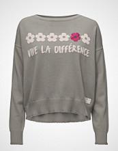 Odd Molly Like Bomb Sweater Strikket Genser Grå ODD MOLLY