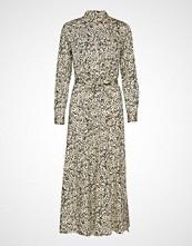 Second Female Wisely Long Shirt Dress Maxikjole Festkjole Creme SECOND FEMALE