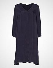 American Vintage Nonogarden Knelang Kjole Blå AMERICAN VINTAGE