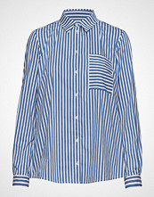 Marc O'Polo Blouse Langermet Skjorte Blå MARC O'POLO