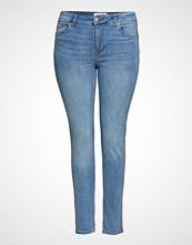 Violeta by Mango Metallic Trims Jeans Skinny Jeans Blå VIOLETA BY MANGO