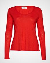 American Vintage Jacksonville T-shirts & Tops Long-sleeved Rød AMERICAN VINTAGE