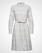 Marimekko Trina 2 Pienet Kivet Dress Knelang Kjole Hvit Marimekko