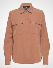 DESIGNERS, REMIX Veronique Shirt Langermet Skjorte Oransje DESIGNERS, REMIX
