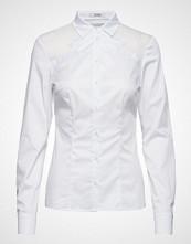 GUESS Jeans Ls Rosalia Shirt Langermet Skjorte Hvit GUESS JEANS