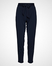 Betty Barclay Pants Classic 1/1 Length Bukser Med Rette Ben Blå Betty Barclay