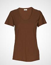 Levete Room Lr-Any T-shirts & Tops Short-sleeved Brun LEVETE ROOM
