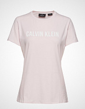 Calvin Klein Performance Ss Tee Logo T-shirts & Tops Short-sleeved Rosa CALVIN KLEIN PERFORMANCE