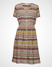 Edc by Esprit Dresses Light Woven Knelang Kjole Multi/mønstret EDC BY ESPRIT