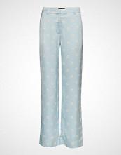 Stine Goya Marcel, 565 Daisy Viscose Vide Bukser Blå STINE GOYA