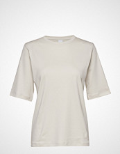 Boss Casual Wear Teresponsible T-shirts & Tops Short-sleeved Creme Boss Casual Wear