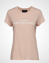 Peak Performance W Orig Tee T-shirts & Tops Short-sleeved Rosa PEAK PERFORMANCE