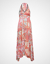 Odd Molly Wonderland Halter Neck Dress Maxikjole Festkjole Rosa ODD MOLLY