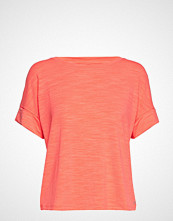 GAP Updated Roll Slv T-shirts & Tops Short-sleeved Rosa GAP