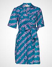 Diane von Furstenberg Clarem Mini Dress Kort Kjole Blå DIANE VON FURSTENBERG