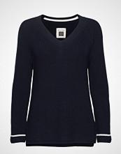 Marc O'Polo Pullover Long Sleeve Strikket Genser Blå MARC O'POLO