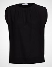 Mango Keyhole Detail Blouse Bluse Kortermet Svart MANGO