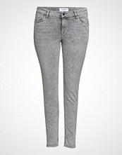 Violeta by Mango Super Slim-Fit Andrea Jeans Skinny Jeans Grå VIOLETA BY MANGO