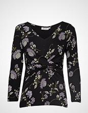 Masai Birgitta Top T-shirts & Tops Long-sleeved Svart MASAI