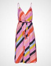 Stine Goya Gianna, 568 Parallels Silk Knelang Kjole Multi/mønstret STINE GOYA