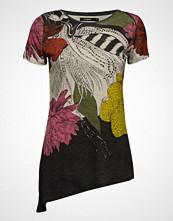Desigual Ts Sioux T-shirts & Tops Short-sleeved Svart DESIGUAL