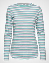 nué notes Paris T-Shirt T-shirts & Tops Long-sleeved Blå NUÉ NOTES
