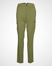 Mos Mosh Ray Cobb Cargo Pant Bukser Med Rette Ben Grønn MOS MOSH