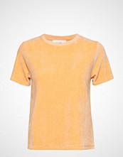American Vintage Isacboy T-shirts & Tops Short-sleeved Gul AMERICAN VINTAGE