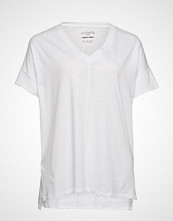 Violeta by Mango Organic Cotton T-Shirt T-shirts & Tops Short-sleeved Hvit VIOLETA BY MANGO