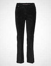 Morris Lady Anais Noir Trousers Bukser Med Rette Ben Svart MORRIS LADY