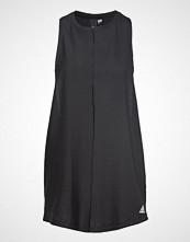Adidas Performance W Id Long Tank T-shirts & Tops Sleeveless Svart ADIDAS PERFORMANCE