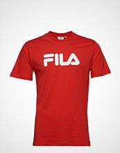 FILA Unisex Classic Pure Ss Tee T-shirts & Tops Short-sleeved Rød FILA