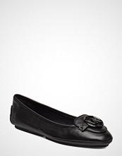 Michael Kors Shoes Lillie Moc Ballerinasko Ballerinaer Svart MICHAEL KORS SHOES