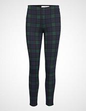 Mango Checks Print Leggings Skinny Jeans Grønn MANGO