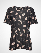 InWear Rosita T-Shirt T-shirts & Tops Short-sleeved Svart INWEAR