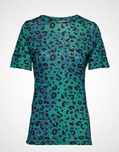 Saint Tropez U1505, Jersey T-Shirt S/S T-shirts & Tops Short-sleeved Grønn SAINT TROPEZ