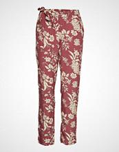 Mango Flowy Printed Trousers Vide Bukser Rød MANGO