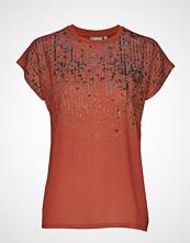 Fransa Fremcaos 1 T-Shirt T-shirts & Tops Short-sleeved Oransje FRANSA