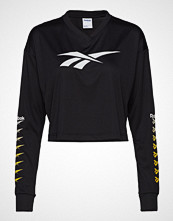 Reebok Classics Cl V P Cropped Longlseeve T-shirts & Tops Long-sleeved Svart REEBOK CLASSICS