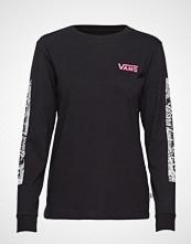 Vans Wm Lady Vans Block R T-shirts & Tops Long-sleeved Svart VANS
