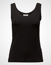 Masai Els Top Fitted No Slv Basic T-shirts & Tops Sleeveless Svart MASAI